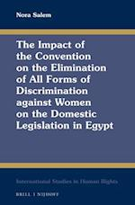 The Impact of the Convention on the Elimination of All Forms of Discrimination Against Women on the Domestic Legislation in Egypt (INTERNATIONAL STUDIES IN HUMAN RIGHTS)
