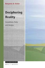 Deciphering Reality (Value Inquiry Book Series Cognitive Science, nr. 307)
