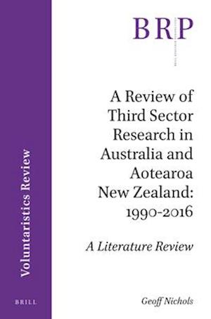 Bog, paperback A Review of Third Sector Research in Australia and Aotearoa New Zealand af Jenny Onyx