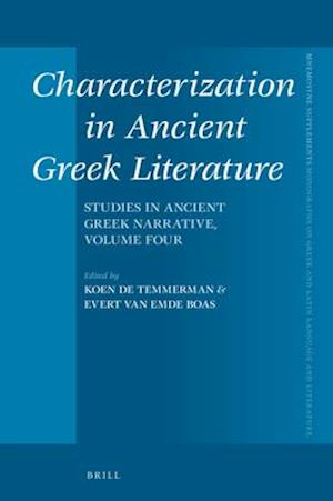 Characterization in Ancient Greek Literature