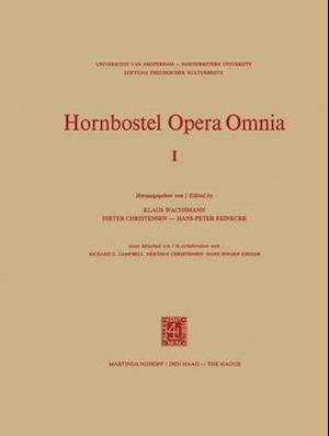 Hornbostel Opera Omnia