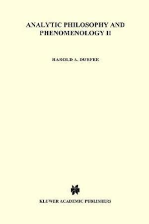 Analytic Philosophy and Phenomenology