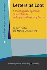 Letters as Loot af Gijsbert Rutten, Gijsbert Johan Rutten