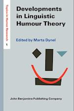 Developments in Linguistic Humour Theory (Topics in Humor Research)