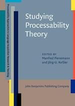 Studying Processability Theory (Processability Approaches to Language Acquisition Research & Teaching, nr. 1)