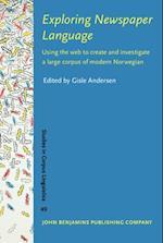Exploring Newspaper Language (STUDIES IN CORPUS LINGUISTICS)