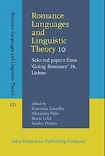 Romance Languages and Linguistic Theory 10 (Romance Languages and Linguistic Theory)