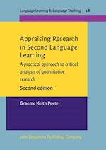 Appraising Research in Second Language Learning (Language Learning & Language Teaching, nr. 28)