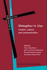 Metaphor in Use (HUMAN COGNITIVE PROCESSING)