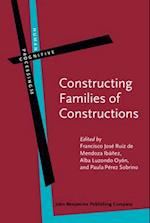 Constructing Families of Constructions (HUMAN COGNITIVE PROCESSING)