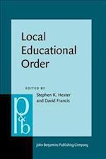 Local Educational Order (Pragmatics & Beyond New Series, nr. 73)
