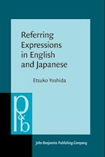 Referring Expressions in English and Japanese (Pragmatics & Beyond New Series)