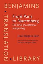 From Paris to Nuremberg (Benjamins Translation Library)