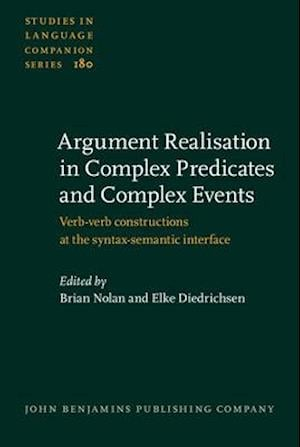 Bog, hardback Argument Realisation in Complex Predicates and Complex Events af Elke Diedrichsen