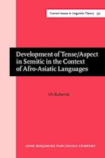 Development of Tense/Aspect in Semitic in the Context of Afro-Asiatic Languages (Current Issues in Linguistic Theory)