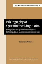 Bibliography of Quantitative Linguistics