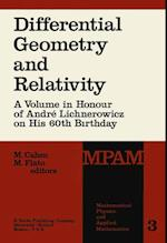 Differential Geometry and Relativity (MATHEMATICAL PHYSICS AND APPLIED MATHEMATICS, nr. 3)
