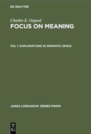 Explorations in Semantic Space