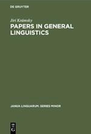 Papers in General Linguistics