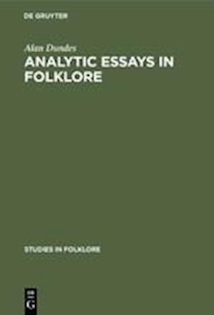 Analytic Essays in Folklore