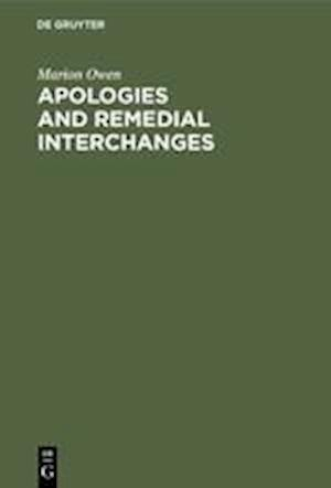 Apologies and Remedial Interchanges