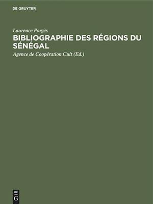 Bibliographie des Régions du Sénégal