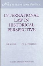 International Law in Historical Perspective (International Law in Historical Perspective, nr. 12)
