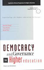 Democracy and Governance in Higher Education (Serie Eu Wetgeving Rechtspraak En Documentatie, nr. 2)
