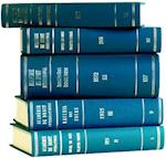 Recueil Des Cours, Collected Courses, Tome/Volume 250a (Index Tomes/Volumes 1993-1994) (RECUEIL DES COURS)