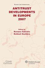 Antitrust Developments in Europe
