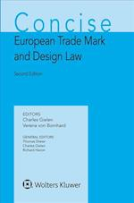 Concise European Trade Mark and Design Law (Concise Ip)