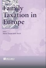Family Taxation in Europe af Roch
