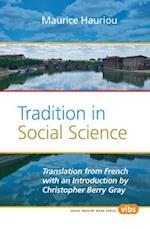 Tradition in Social Science (Value Inquiry Book, nr. 236)