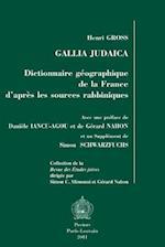 Gallia Judaica (Collection De La Revue Des Etudes Juives, nr. 49)