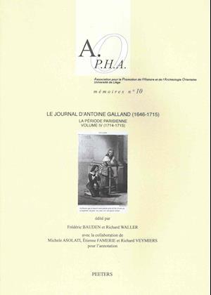 Bog, paperback Le Journal D'Antoine Galland (1646-1715)