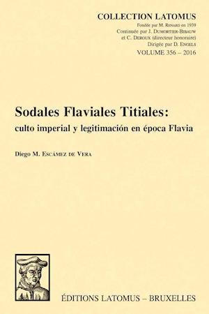 Bog, paperback Sodales Flaviales Titiales af DM Escamez De Vera