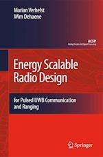 Energy Scalable Radio Design af Marian Verhelst, Wim Dehaene