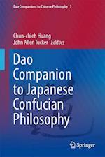 Dao Companion to Japanese Confucian Philosophy (Dao Companions to Chinese Philosophy, nr. 5)