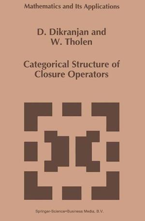 Categorical Structure of Closure Operators : With Applications to Topology, Algebra and Discrete Mathematics