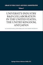 University-industry R&D Collaboration in the United States, the United Kingdom, and Japan af John Kirkland, Dianne Rahm, Barry Bozeman