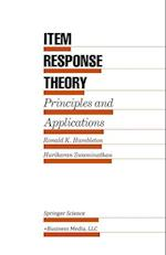 Item Response Theory : Principles and Applications
