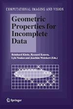 Geometric Properties for Incomplete Data af Joachim Weickert, Ryszard Kozera, Lyle Noakes