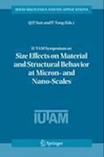 IUTAM Symposium on Size Effects on Material and Structural Behavior at Micron- and Nano-scales (SOLID MECHANICS AND ITS APPLICATIONS, nr. 142)