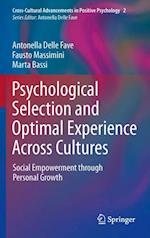 Psychological Selection and Optimal Experience Across Cultures (Cross-cultural Advancements in Positive Psychology)