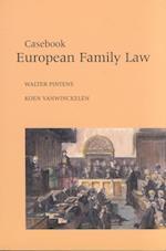 Casebook European Family Law (Varia Rechten)