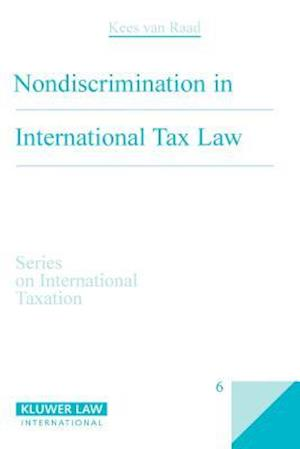 Non-Discrimination in International Tax Law