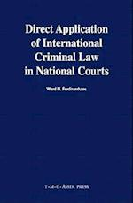 Direct Application of International Criminal Law in National Courts