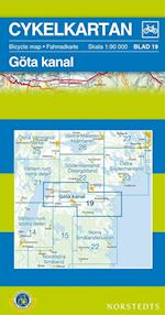 Göta Kanal  1:90 000 (Cykelkartan, nr. 19)