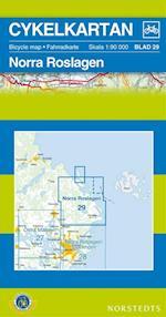 Norra Roslagen  1:90 000 (Cykelkartan, nr. 29)