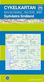 Sydvästra Småland  1:90 000 (Cykelkartan, nr. 7)